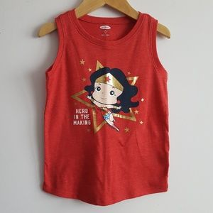 Old Navy Shirts & Tops - 🆕️Toddler Wonder Woman Tank